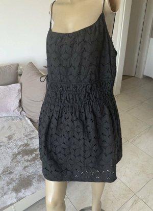 Zara Traum Kleid .. Oberteil .. Lochstrickerei .. schwarz .. Gr. XL #Zara# Neu