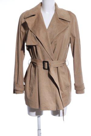Zara Trenchcoat wollweiß Casual-Look