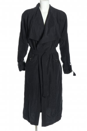 Zara Trenchcoat schwarz Business-Look
