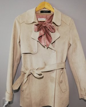 Zara Trenchcoat crème-beige clair