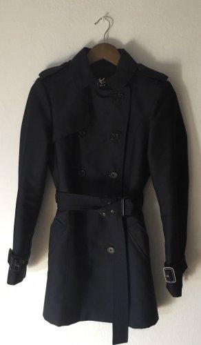 Zara Trenchcoat dunkelblau