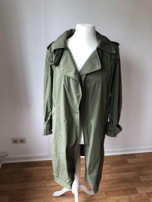 Zara Trenchcoat kaki-gris vert
