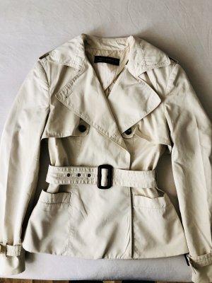 Zara Trenchcoat Kurzmantel beige elegant S 36