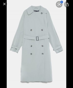 Zara trenchcoat mint neu