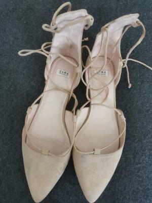 Zara Trf Ballerinas