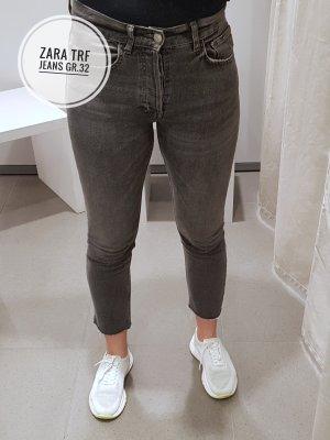Zara Trf High Waist Jeans