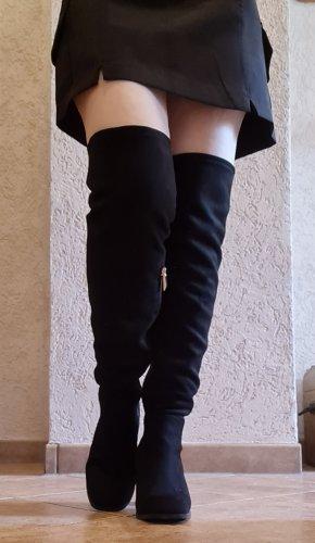 Zara Trafaluc Overknees black