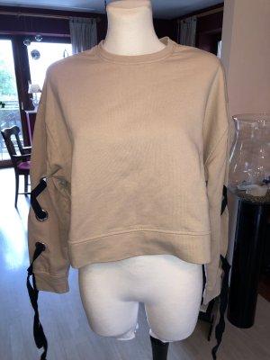 Zara TRF S sweatshirt beige
