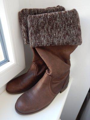 ZARA trf Stiefel aus Leder Gr. 37 neu!