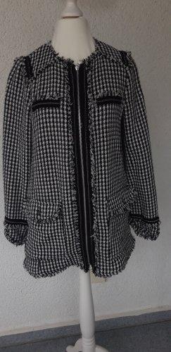 Zara Trf tolle Jacke schwarz/weiß Gr.S neuwertig