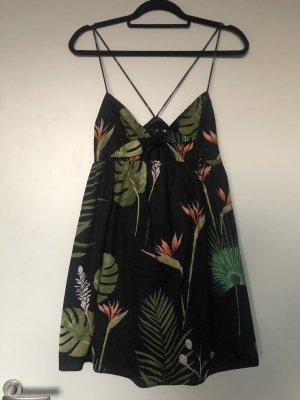 Zara Tropical Blumen Kleid wie neu S M 36 38
