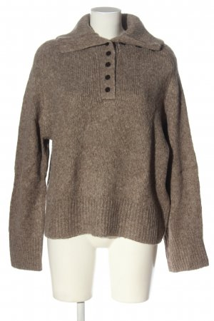 Zara Troyer braun meliert Casual-Look