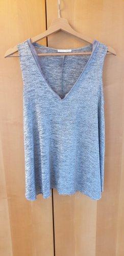 Zara Tshirt in fließendem Stoff