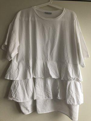 Zara T-shirt biały