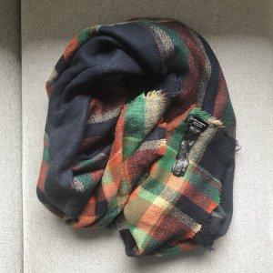 Zara Accesoires Écharpe en laine multicolore
