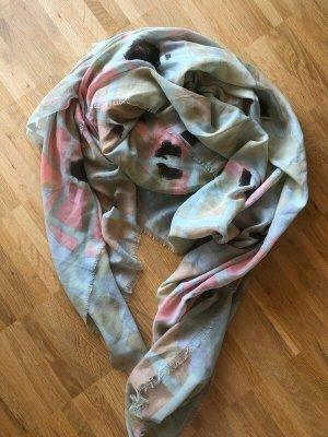 Zara Tuch Schal Oversized neu pastel