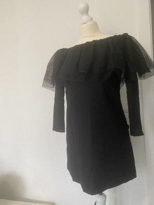 Zara Tüll Kleid schwarz Gr. M
