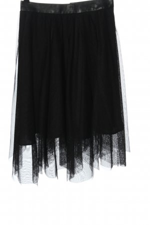 Zara Tulle Skirt black casual look