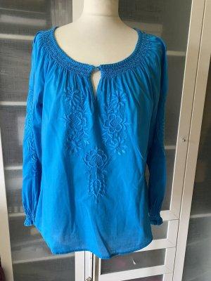 Zara Tunika Bluse Gr 38 (M) neonblau