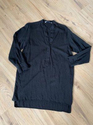 Zara Tunika/Bluse in schwarz - XS