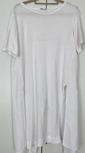 Zara Tunika Gr.S sehr guter Zustand Weiß sexy Rücken