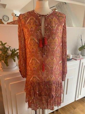 Zara Tunika Kleid Pailletten M