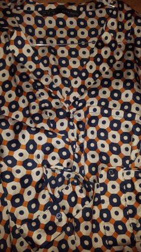 Zara Robe tunique multicolore polyester