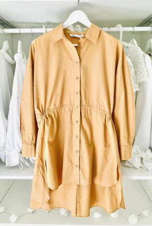 Zara Long Sleeve Blouse gold orange-yellow