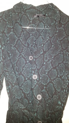 Zara Tunika Reptil Snake S (M) dunkelgrün