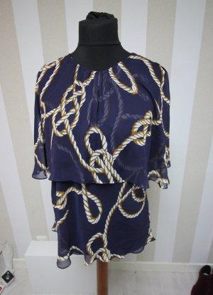 Zara Tunique bleu foncé