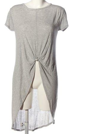 Zara Blusa a tunica grigio chiaro puntinato stile casual