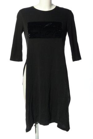 Zara Tunikakleid schwarz Elegant