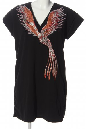 Zara Tunikakleid Motivdruck Casual-Look