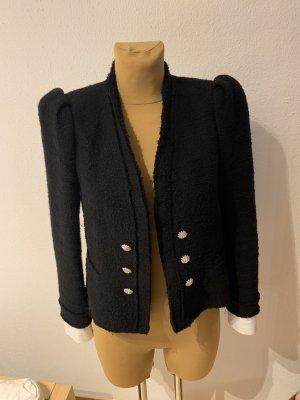 Zara Tweed Blazer black