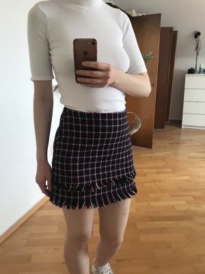 Zara Tweed Skirt multicolored