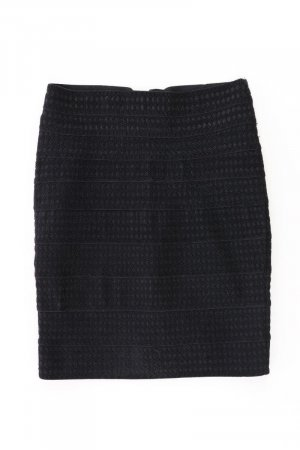 Zara Tweed Skirt black polyester