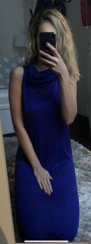 Zara Basic Stretch jurk donkerblauw-blauw