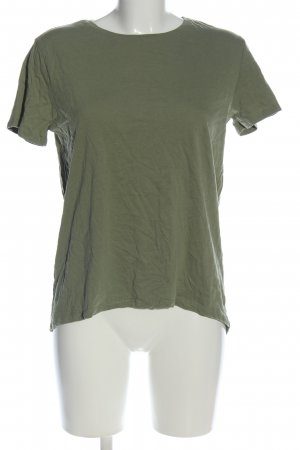 Zara T-Shirt khaki Casual-Look
