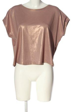 Zara T-Shirt pink Glanz-Optik