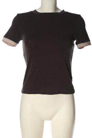 Zara T-Shirt hellgrau Elegant