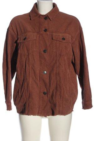 Zara Übergangsjacke bronzefarben Casual-Look