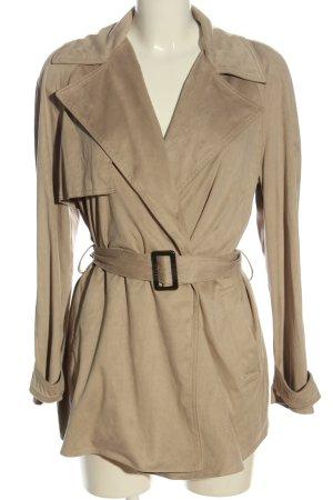 Zara Between-Seasons-Coat natural white casual look