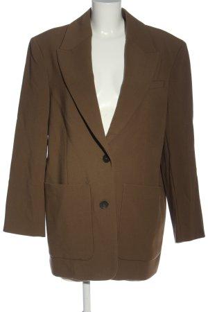 Zara Manteau mi-saison brun style décontracté