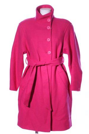 Zara Abrigo de entretiempo rosa estilo «business»