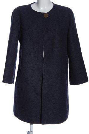 Zara Übergangsmantel blau Casual-Look