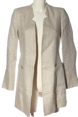 Zara Manteau mi-saison blanc cassé style décontracté