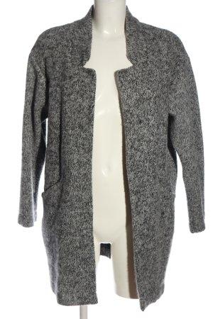 Zara Cappotto a maglia grigio chiaro stile casual
