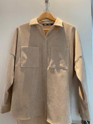 Zara Überhemd Jacke beige