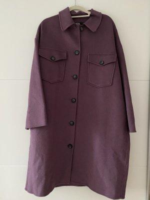 Zara Blouse Jacket grey lilac