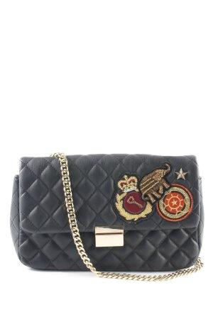 Zara Umhängetasche schwarz Elegant